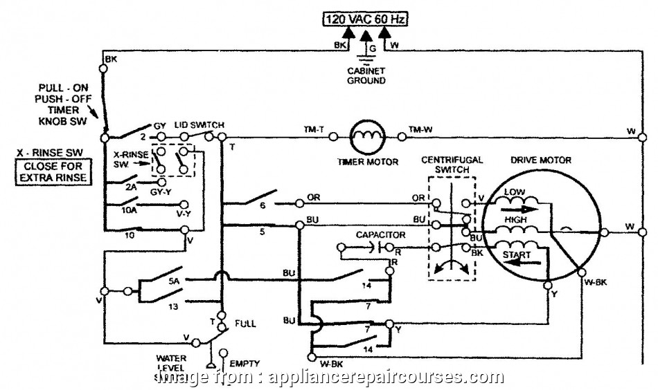 electrical wiring diagram for a garbage disposal and dishwasher appliance  course module five figure 5-