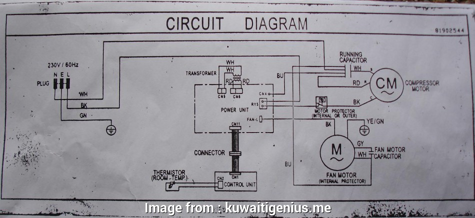 Electrical Wiring Diagram, Aircon Most Ac Wire Diagram ... on