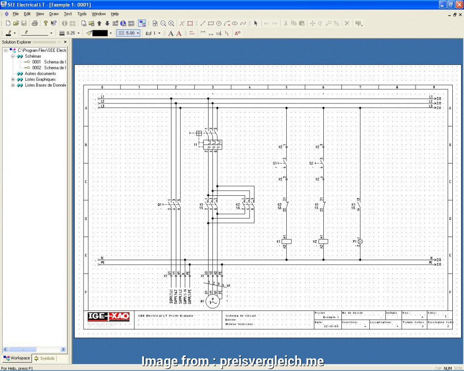 electrical wiring diagram drawing software Electrical Drawing Software, Symbols At Free, Wiring Diagram In 13 Popular Electrical Wiring Diagram Drawing Software Solutions