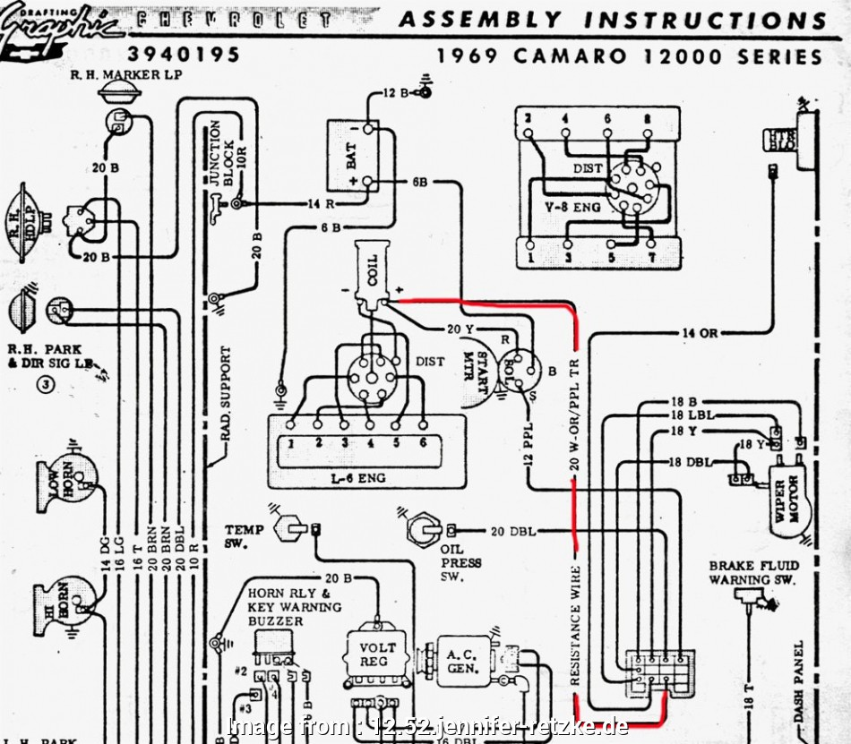 Electrical Wiring Diagram  Gto 52 Simple 1968 Camaro Dash