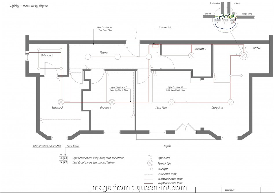 Electrical Wiring Diagram  House Pdf Creative Electrical