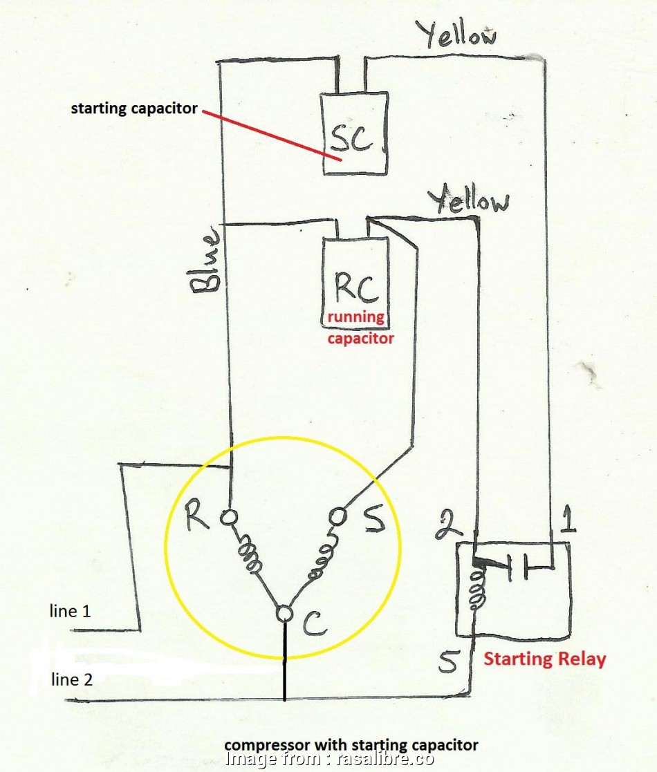 Home Ac Electric Diagram - Catalogue of Schemas Ac Compressor Electrical Wiring Diagram on