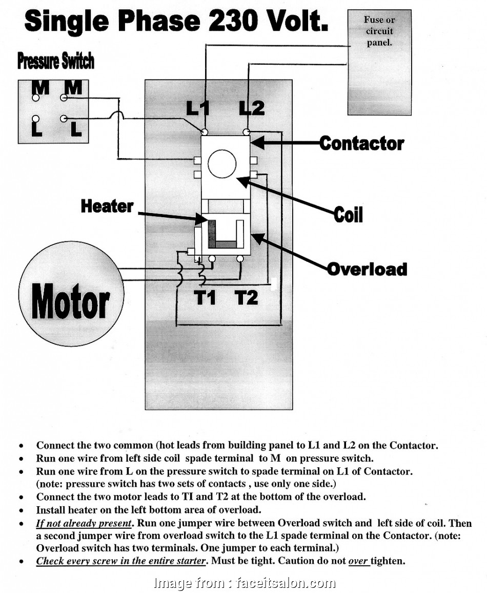 Electrical Wiring Diagram Of, Compressor Most Air Compressor