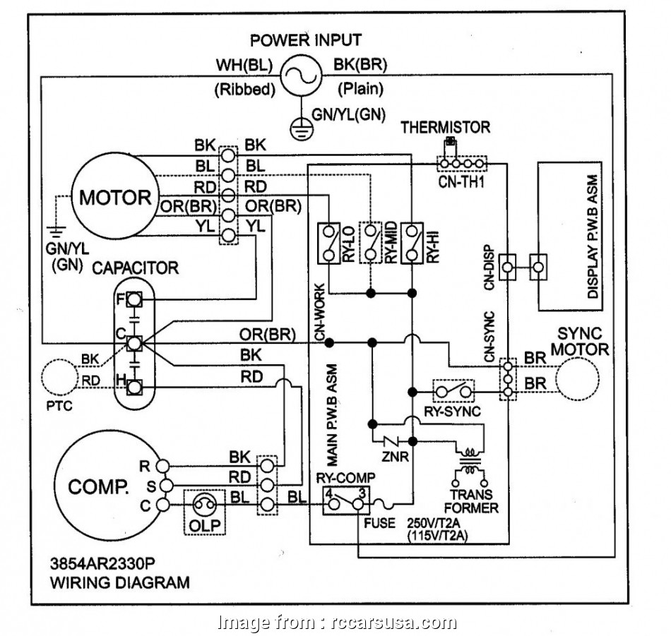 Electrical Wiring Diagram Of Window Ac Cleaver Wiring ... on