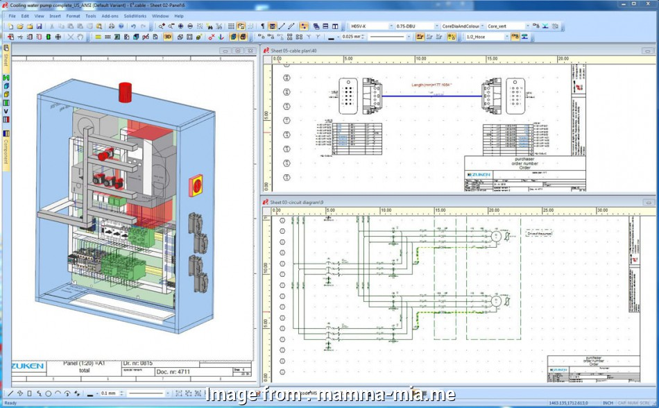 Electrical Wiring Diagram Software Top Electrical Panel