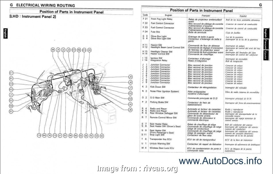 Electrical Wiring Diagram Toyota Hiace Popular