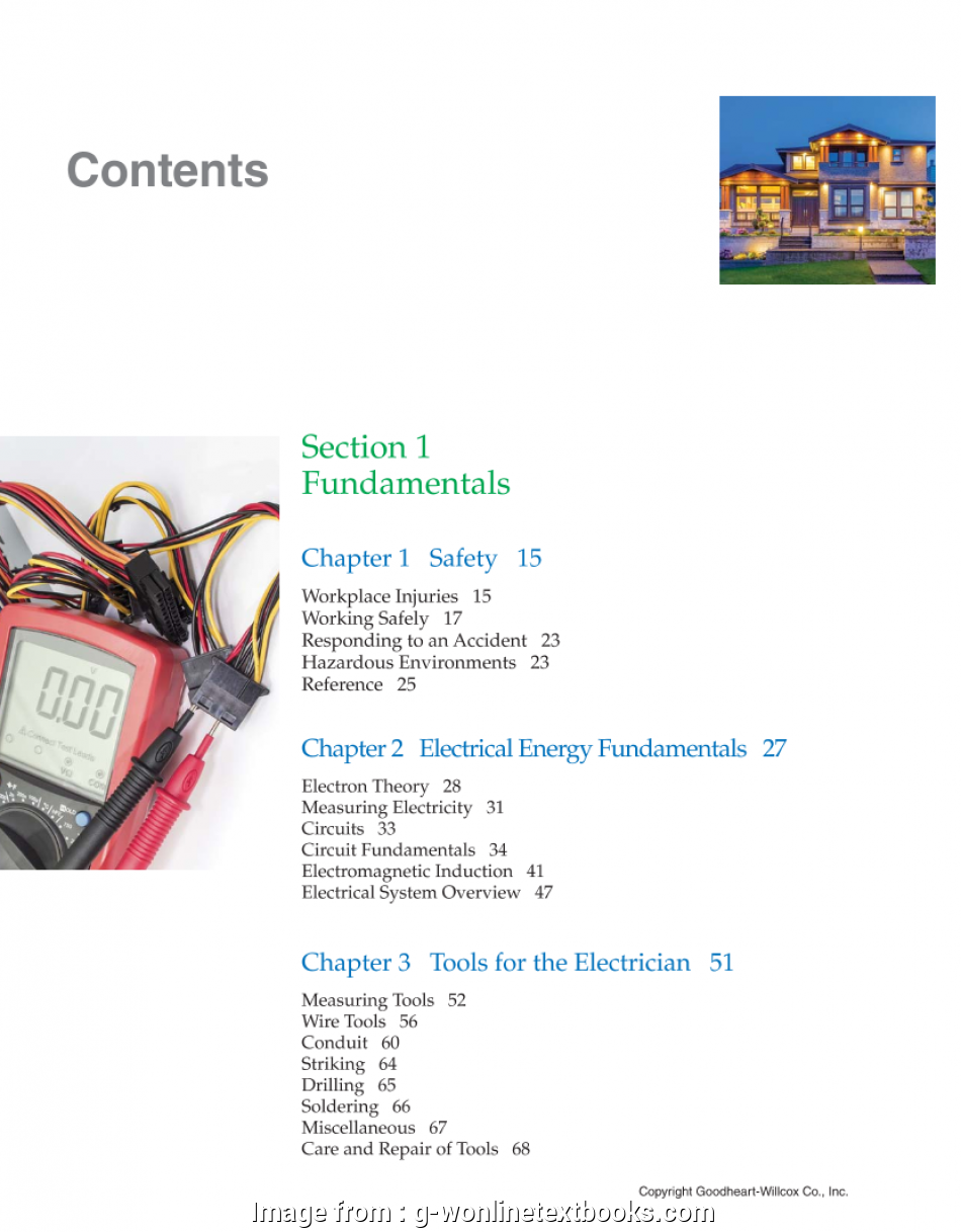 electrical wiring residential chapter 8 Chapter 1 Safety, Workplace Injuries, Working Safely, Responding to an Accident, Hazardous Environments, Reference, Chapter 2 Electrical 16 Perfect Electrical Wiring Residential Chapter 8 Images