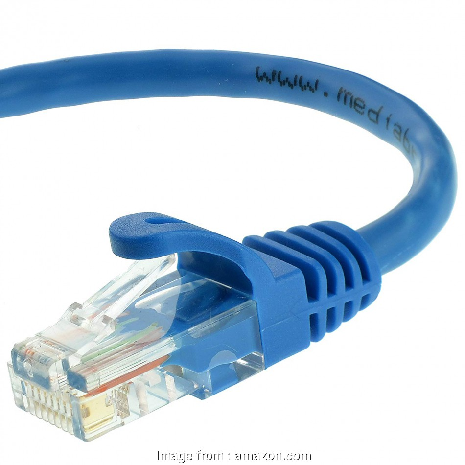 ethernet cable connector amazon Mediabridge Ethernet Cable, Feet), Supports Cat6 / Cat5e / Cat5 Standards, 550MHz, 10Gbps, RJ45 Computer Networking Cord (Part# 31-399-50B ) 12 Most Ethernet Cable Connector Amazon Ideas