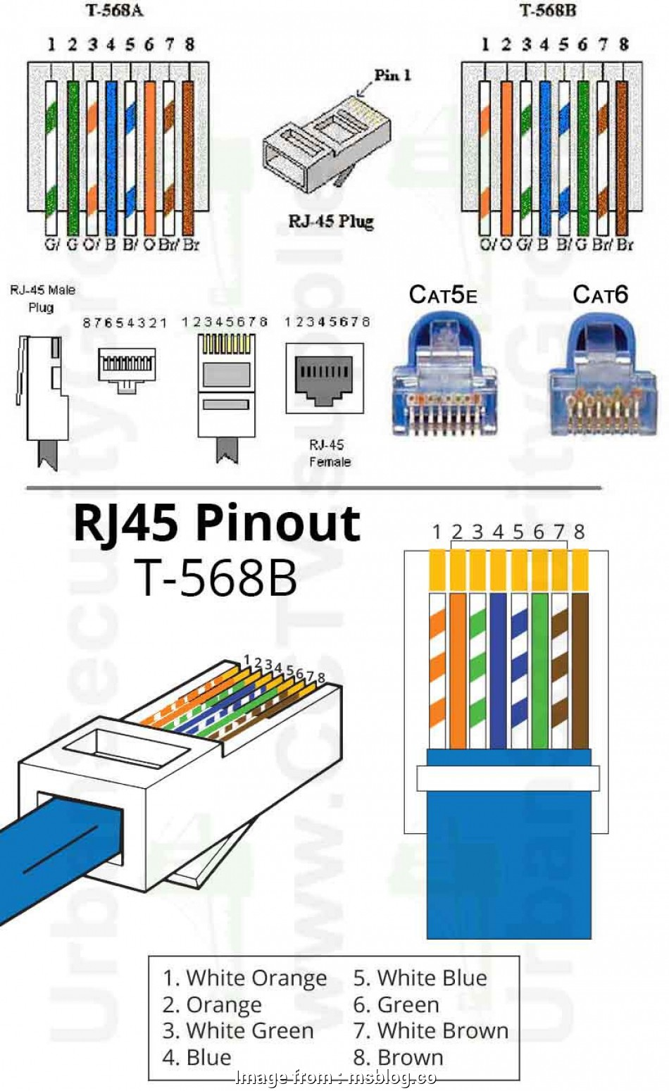 Cat 6 Termination Diagram Explanation - Wiring Diagram User Wiring Guide on