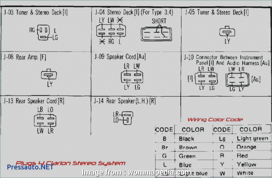 Factory Electrical Wiring Diagram Popular Beautiful Clarion Stereo Wiring Diagram Electrical Re
