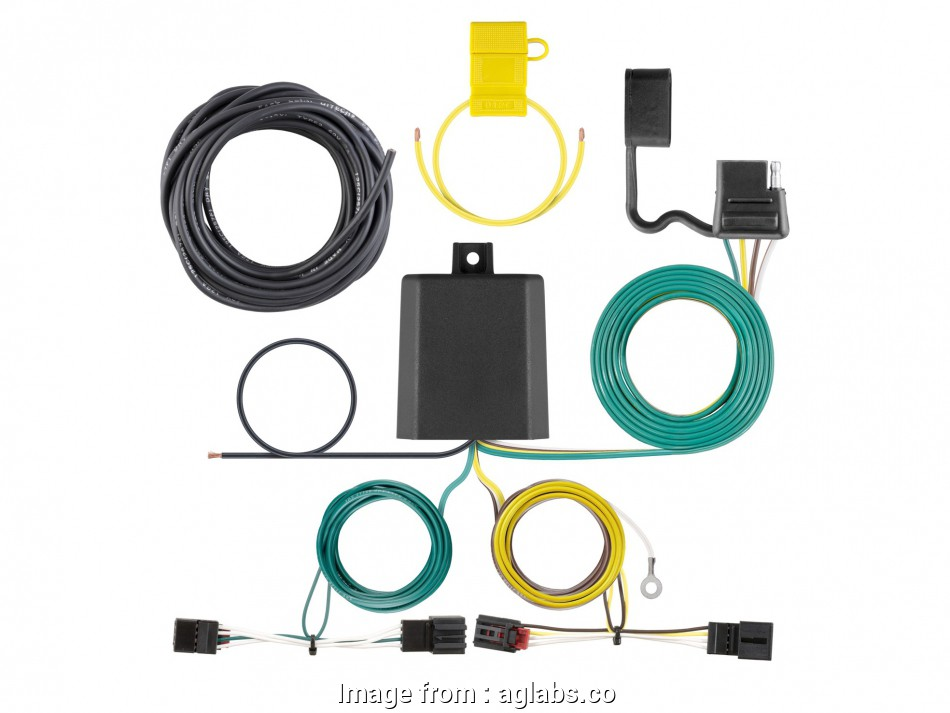 Ford 3000 Electrical Wiring Diagram Brilliant Ford Edge 2007 2010 Wiring  Harness Curt  56329