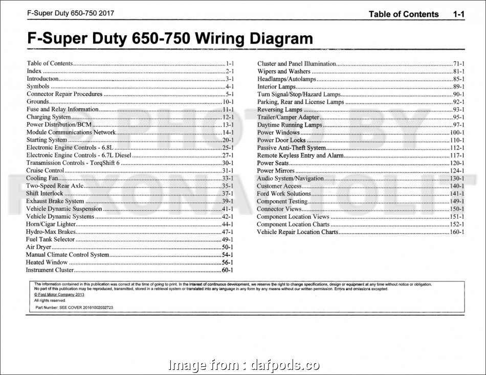 Ford F650 Starter Wiring Diagram Creative Ford F650 Super