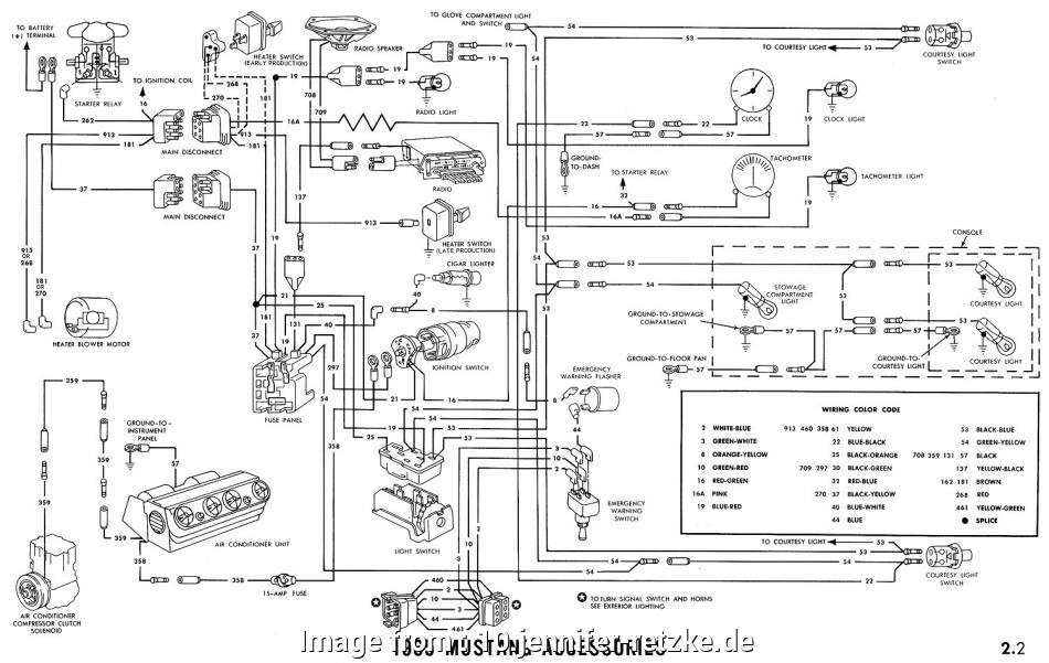 Ford  Starter Wiring Diagram Best 1969 Mustang Ignition Wiring Diagram Wiring Diagrams Mustang