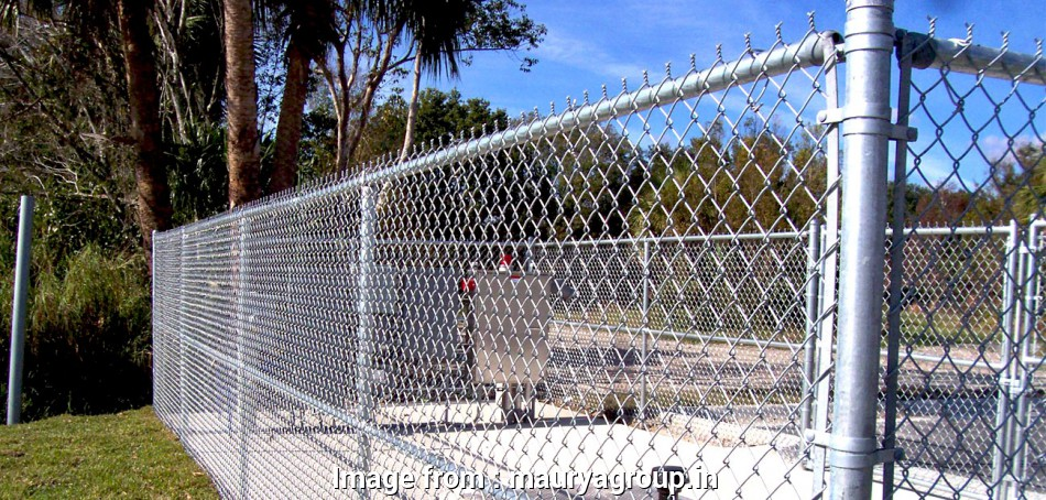 Galvanised Wire Mesh Fence Creative Galvanised Steel Chain