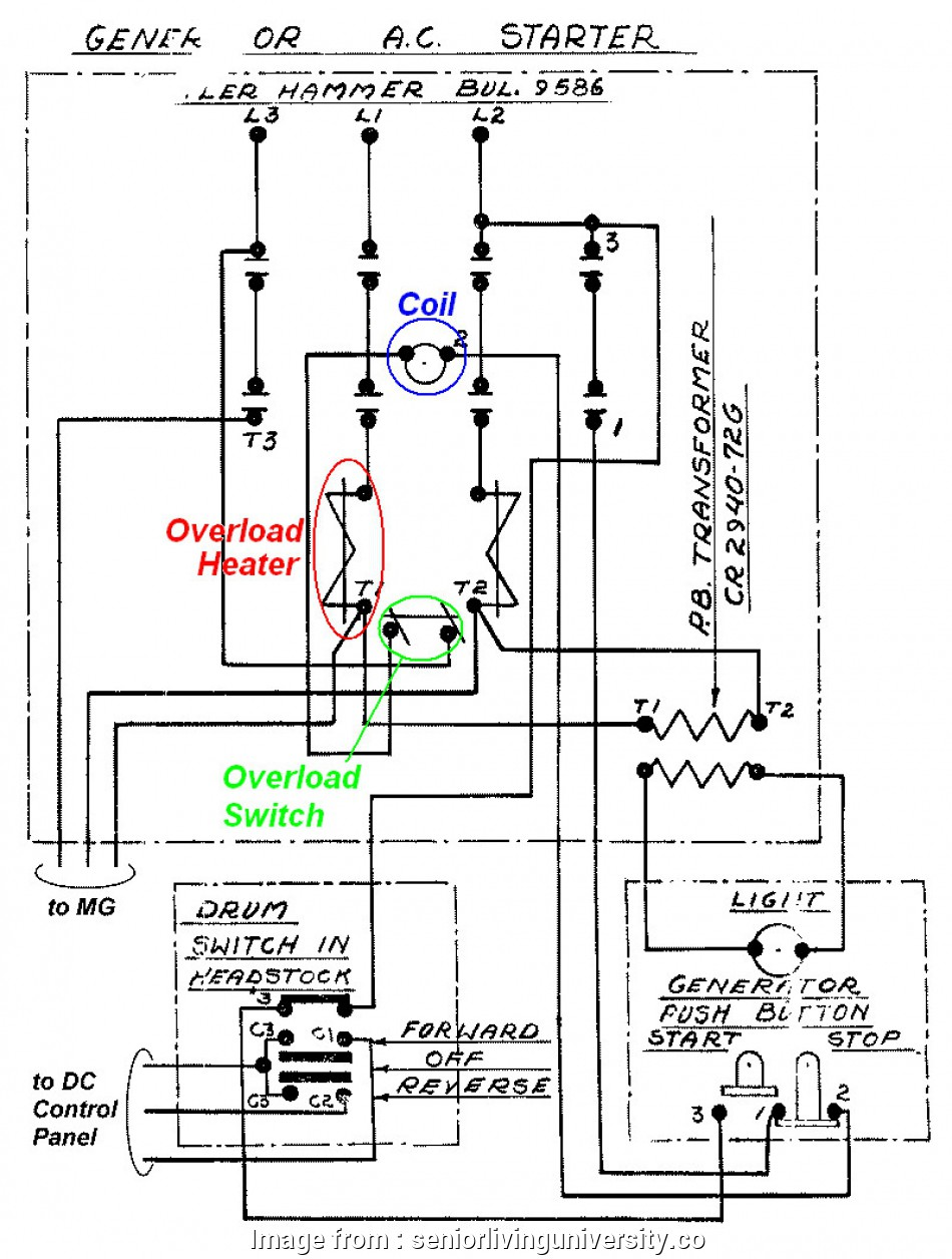 16 Practical Ge Motor Starter Wiring Diagram Photos