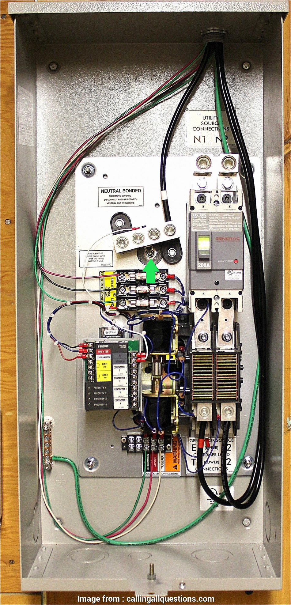 6a62 10 Circuit Transfer Switch Generac Wiring Diagram Wiring Resources