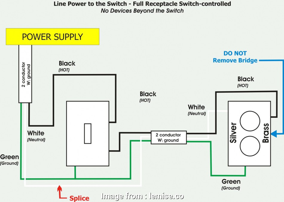 Gfci Outlet With Switch Wiring Diagram Popular Wiring
