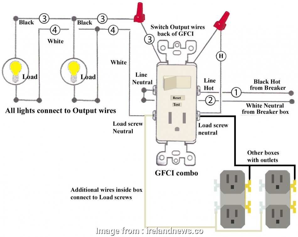 Gfci Wiring Multiple Outlets Diagram Practical Wiring