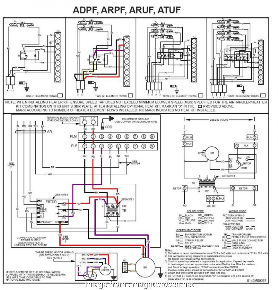 10 Creative Goodman Furnace Thermostat Wiring Diagram