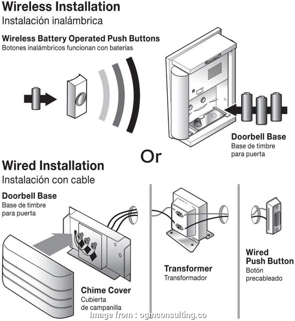 hampton bay wired doorbell wiring diagram Hampton, Wireless Or Wired Door Bell White Bead Board M5037 Ebay Payne Wiring Diagram Hampton, Doorbell Wiring Diagram 10 New Hampton, Wired Doorbell Wiring Diagram Collections