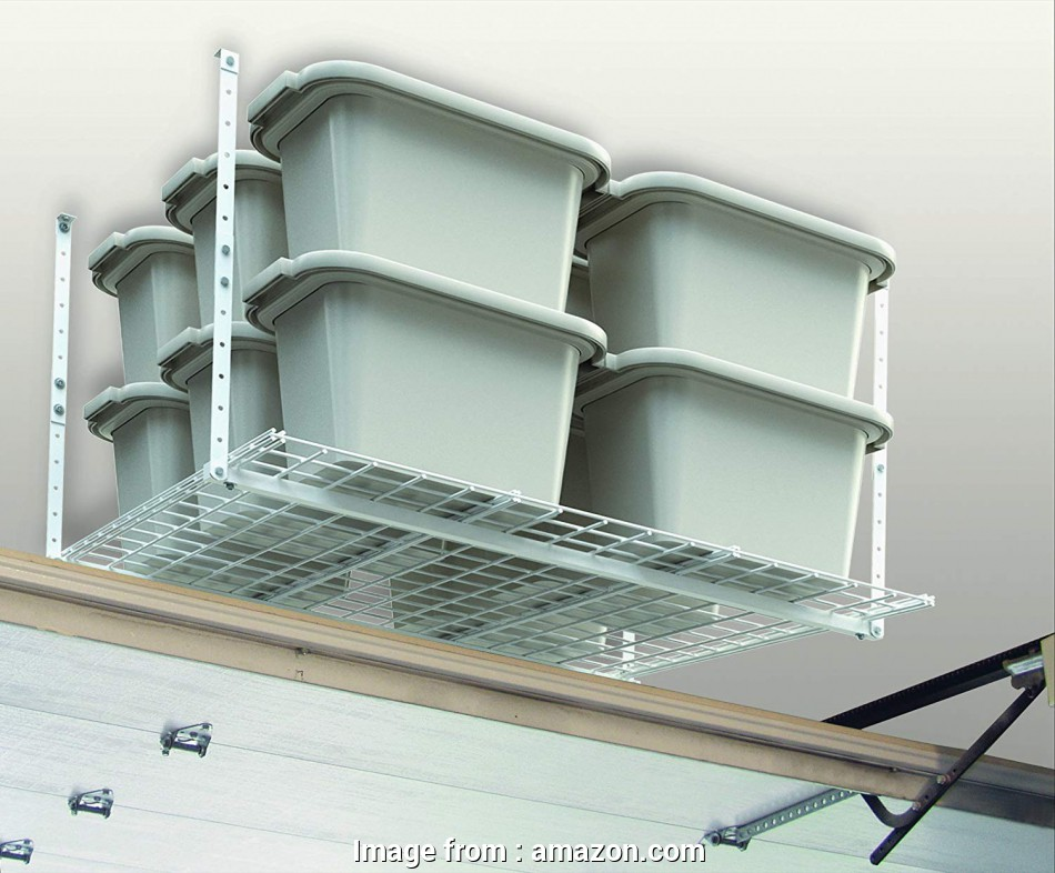 hanging wire garage shelves Amazon.com: HyLoft 00540 45-Inch-by-45-Inch Overhead Storage System, White: Home Improvement Hanging Wire Garage Shelves Professional Amazon.Com: HyLoft 00540 45-Inch-By-45-Inch Overhead Storage System, White: Home Improvement Photos