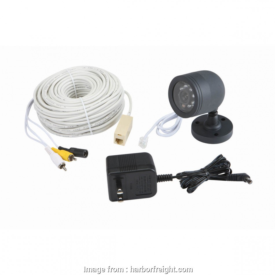 harbor freight security camera wiring diagram weatherproof color security  camera with night vision harbor freight security