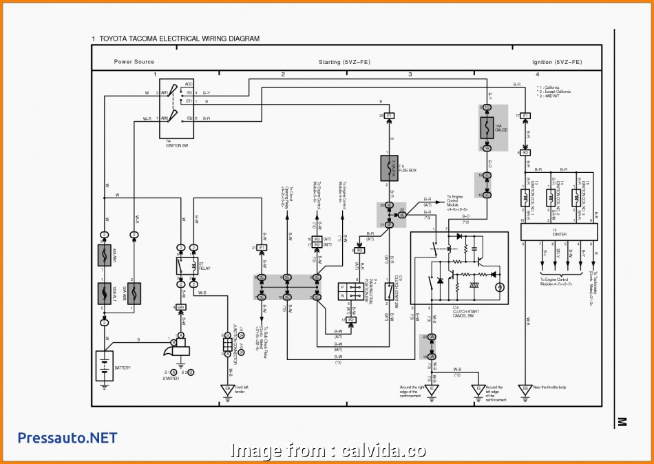 Hilux Starter Wiring Diagram Top Wiring Diagram  Toyota