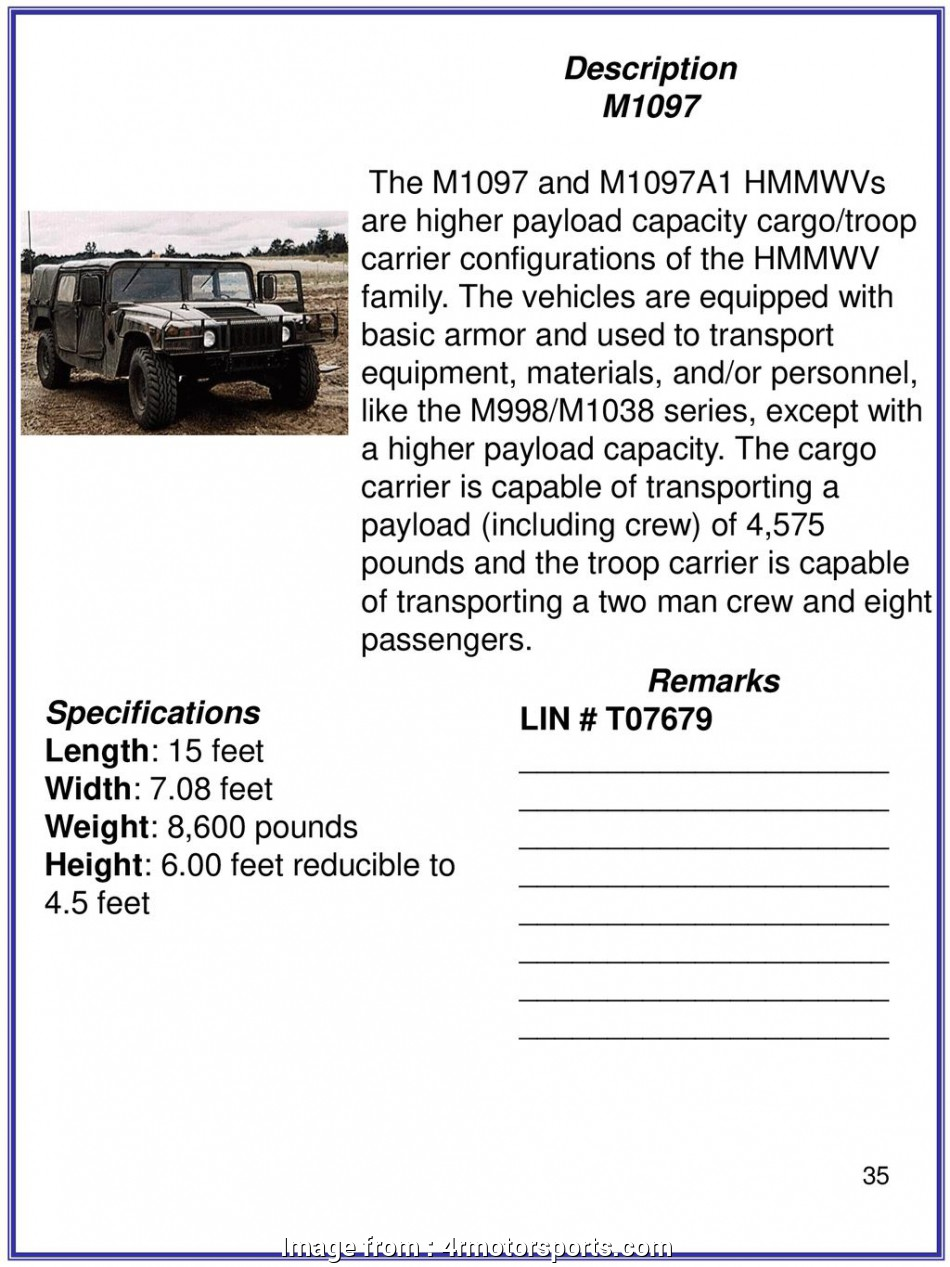 Hmmwv Starter Wiring Diagram Fantastic M1097 Humvee Fuse  On  Wiring Diagrams Explained U2022