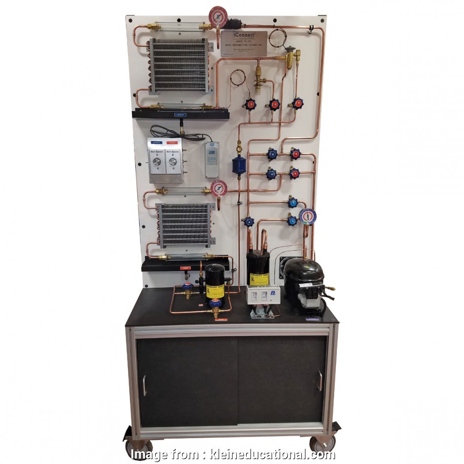 home electrical training system kit Basic Refrigeration Trainer TU-100 16 Professional Home Electrical Training System Kit Collections