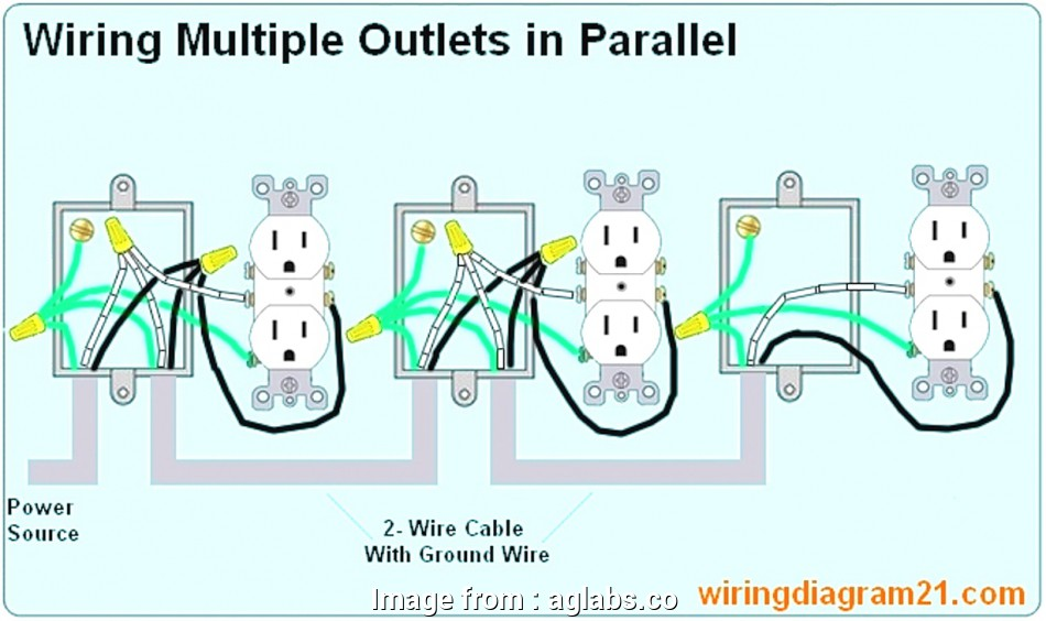Home Power Outlet Wiring Top Wiring Multiple Outlets Wire ...