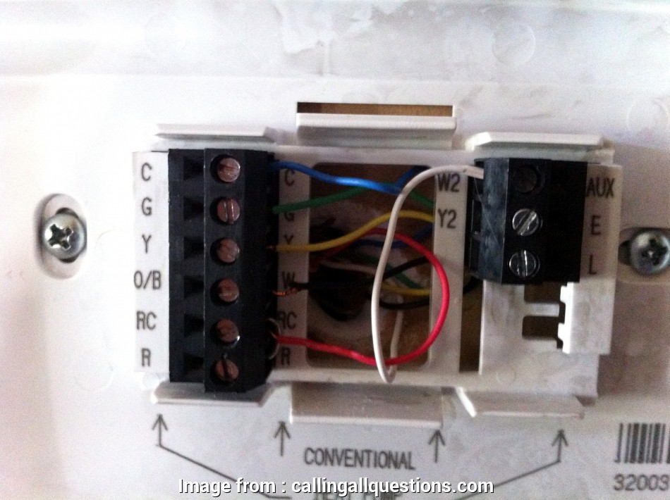 Honeywell  3000 Thermostat Wiring Diagram Most Honeywell Thermostat Wiring Diagram Fresh