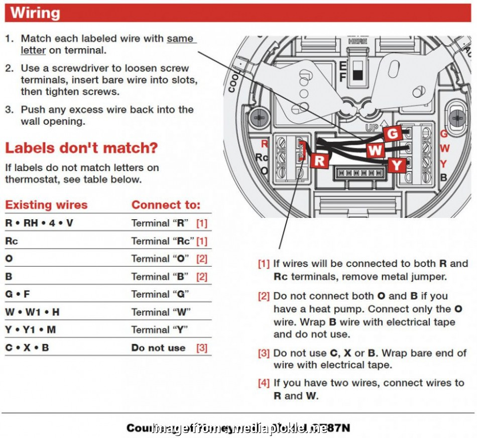 honeywell ct87n4450 thermostat wiring diagram Wiring Diagram Thermostat Honeywell Ct87n Brilliant Wire Ct87n4450 12 Cleaver Honeywell Ct87N4450 Thermostat Wiring Diagram Pictures