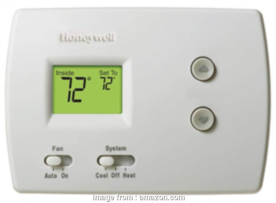 honeywell thermostat pro 3000 wiring diagram honeywell non-programmable  digital thermostat (2 pack)