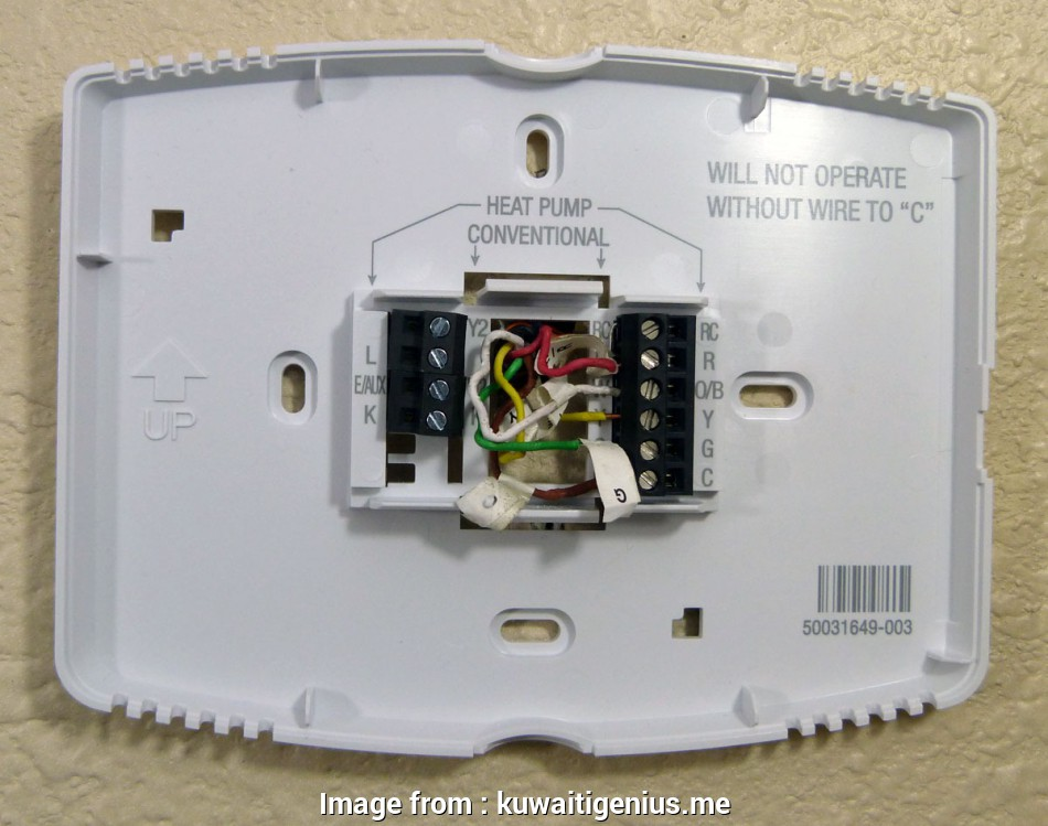 Honeywell Thermostat Wiring Diagram  Heat Pump Best