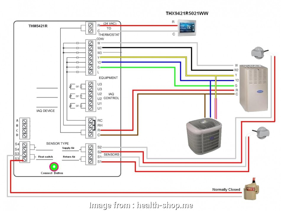 Honeywell Wifi Smart Thermostat Wiring Diagram Popular