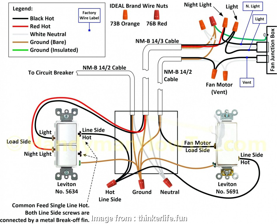 How To 2  Switch Wiring Brilliant 2  Switch Diagram
