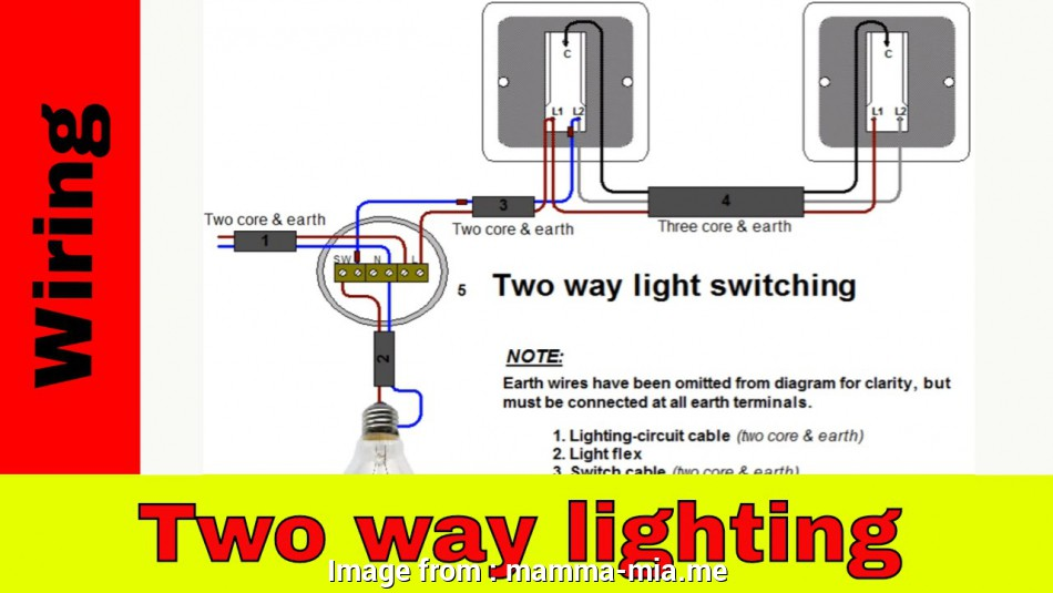How To Install A Three  Light Switch Diagram Brilliant 3