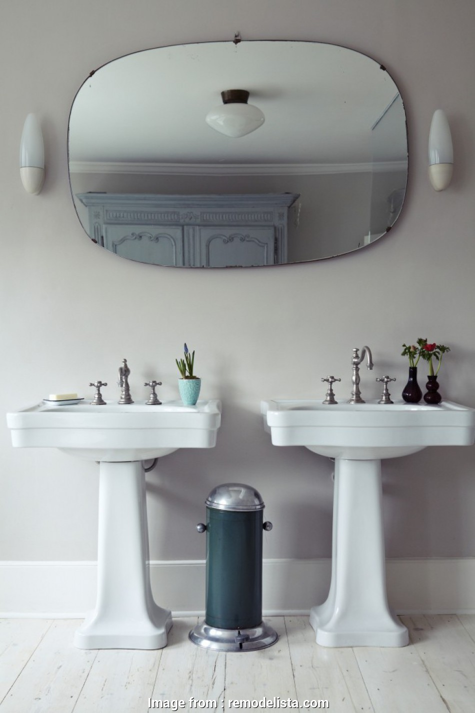 how to install ceiling light in bathroom In Michelle McKenna, Brenlen Jinken's Renovated London Town House,, master bath, a 9 Creative How To Install Ceiling Light In Bathroom Galleries