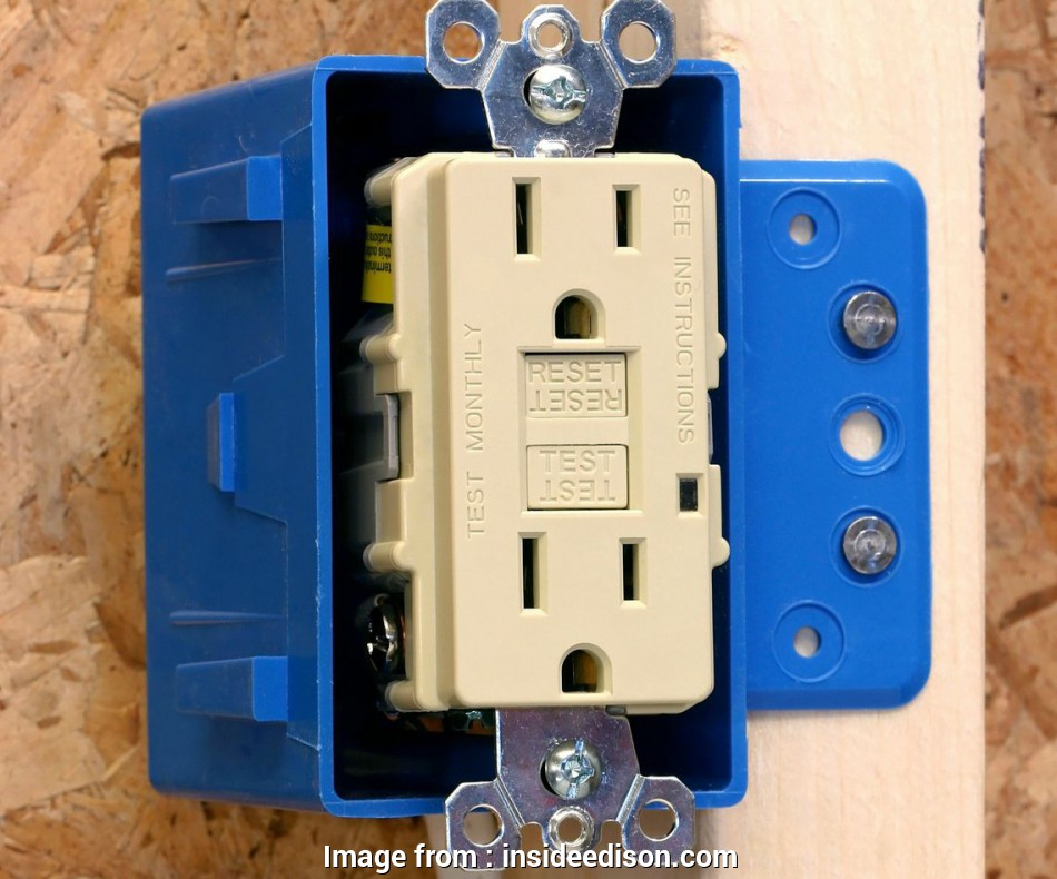 How To Install Electrical Outlet Gfci Best How Does A Gfci