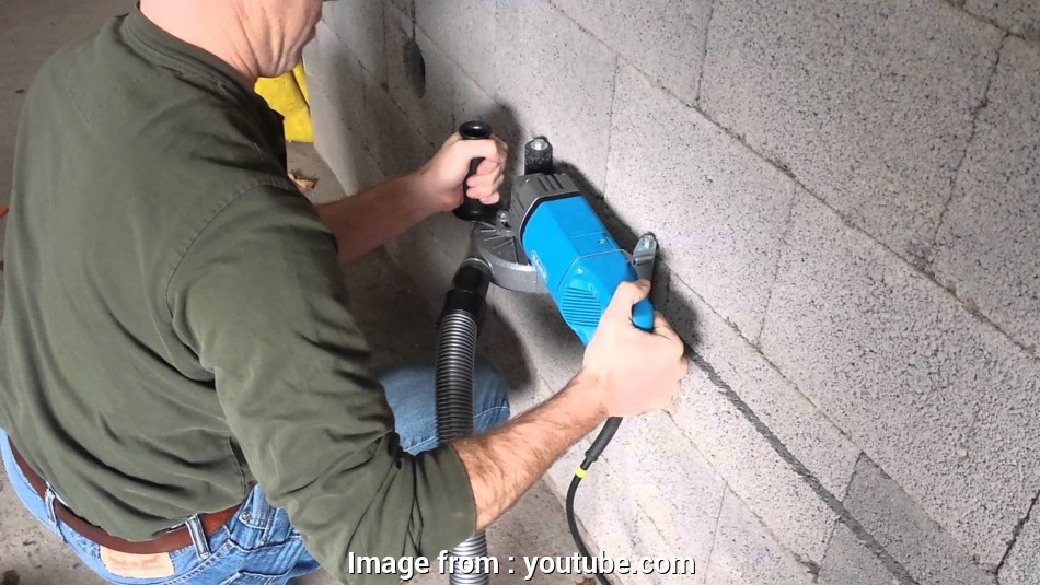 how to install electrical outlet in concrete block Horizontal Electrical Channel in Comfort Block Wall System 17 Practical How To Install Electrical Outlet In Concrete Block Solutions