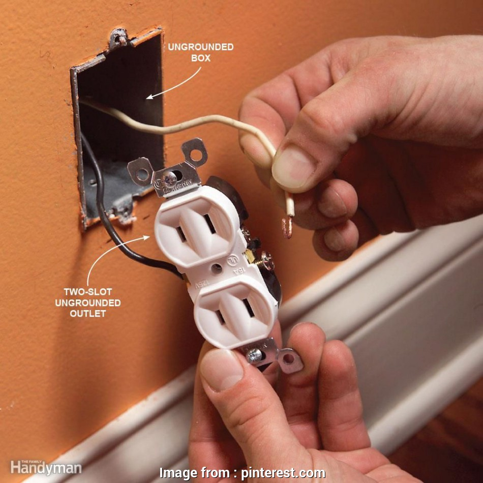 how to install electrical outlet without ground wire Mistake 5: Installing a Three-Slot receptacle without a Ground Wire. Electrical WiringElectrical 10 Top How To Install Electrical Outlet Without Ground Wire Collections