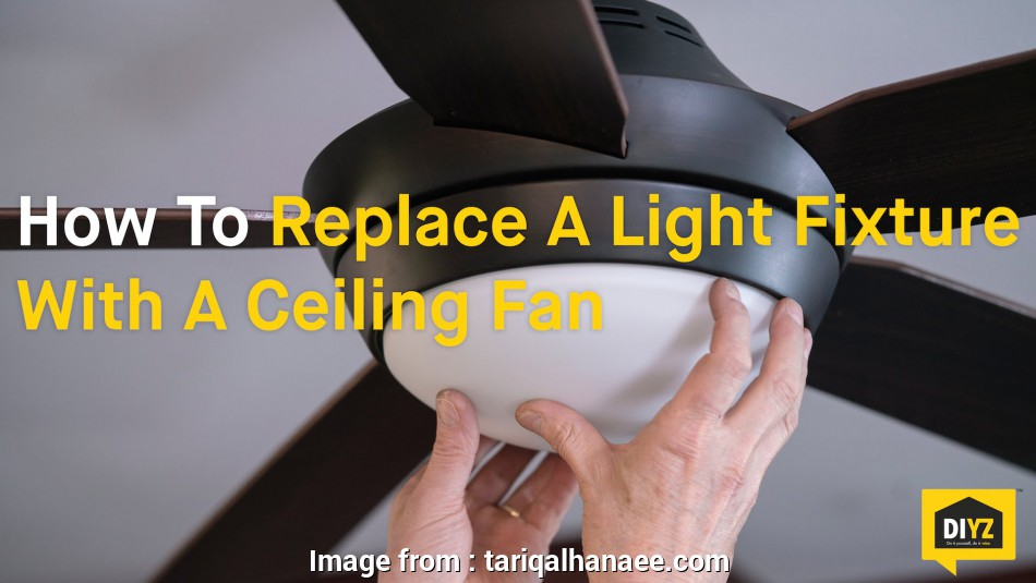 how to replace a light fixture with a ceiling fan with lights ... Replace Ceiling, With Light Fixture Best Flush Mount Ceiling Light Drop Ceiling Lighting 14 Top How To Replace A Light Fixture With A Ceiling, With Lights Galleries