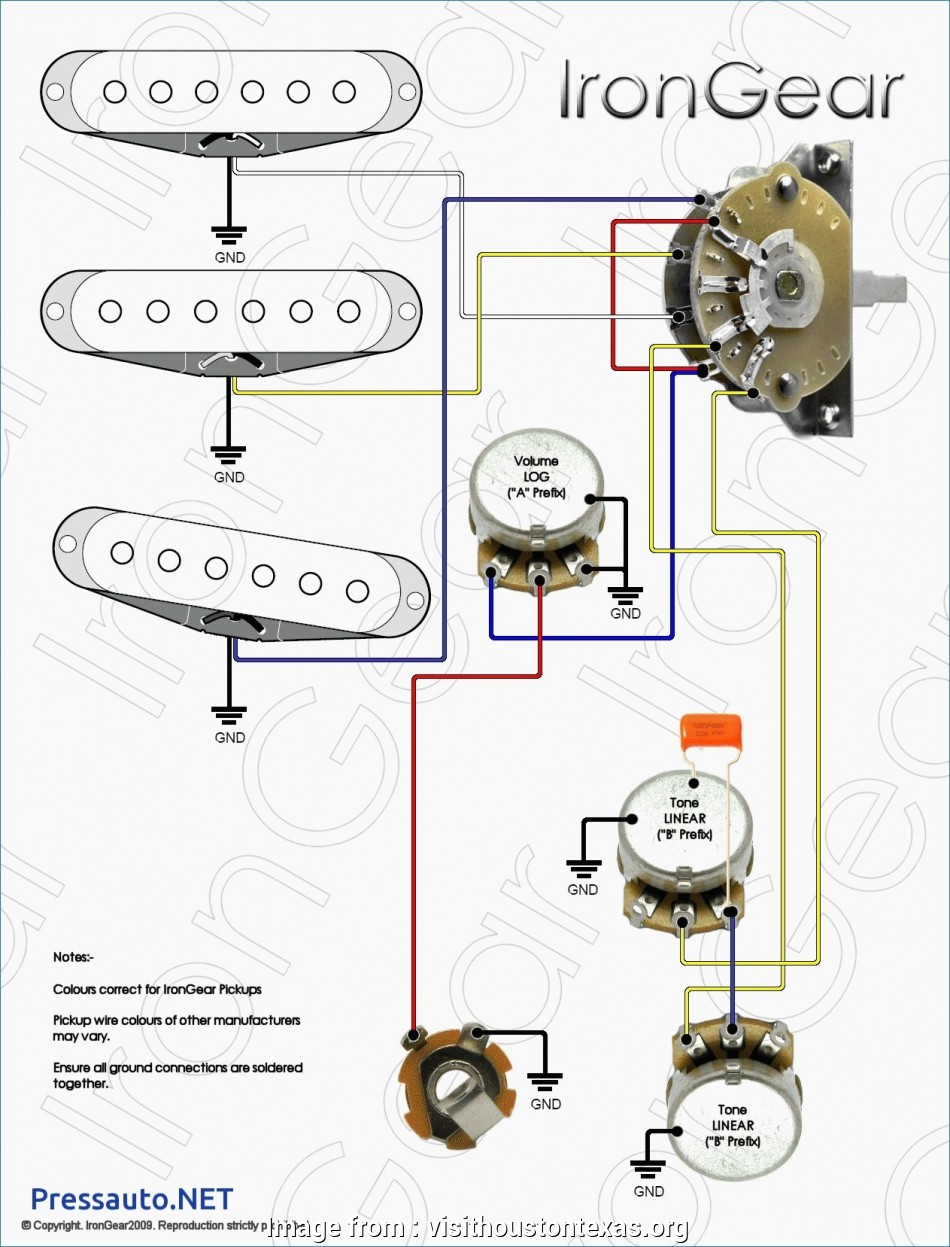 How To Wire  A 3  Switch Popular Gibson 3  Switch Wiring