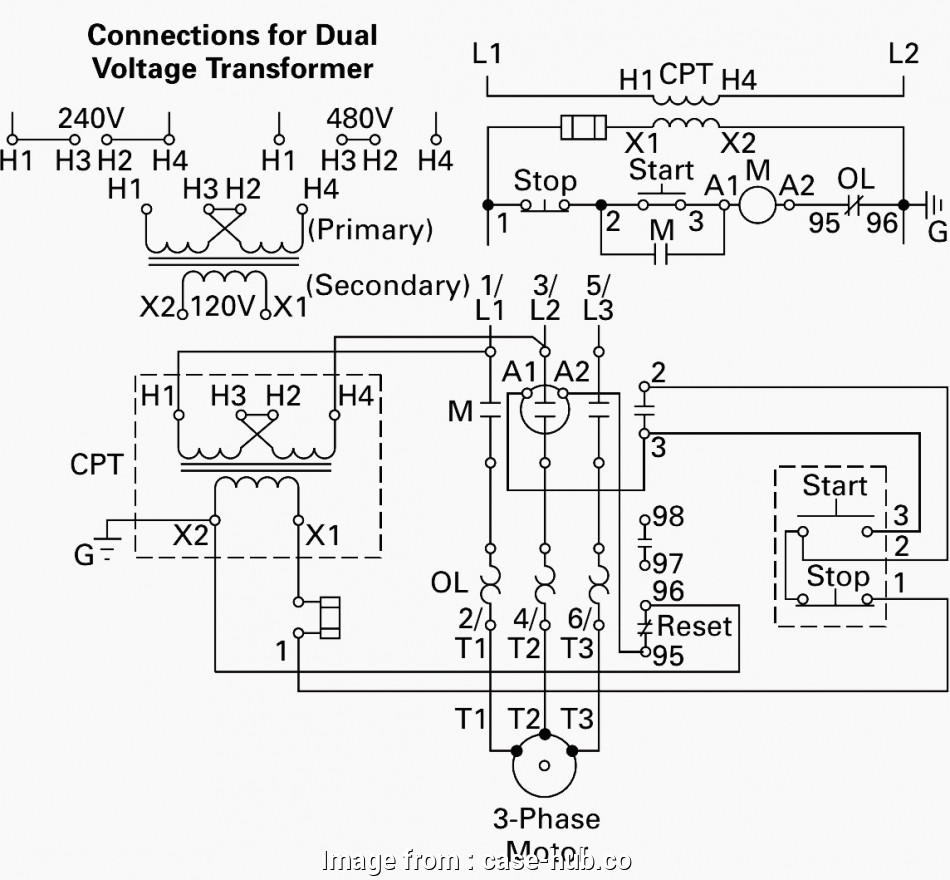 How To Wire A 480V Light Professional 480V 3 Phase ...