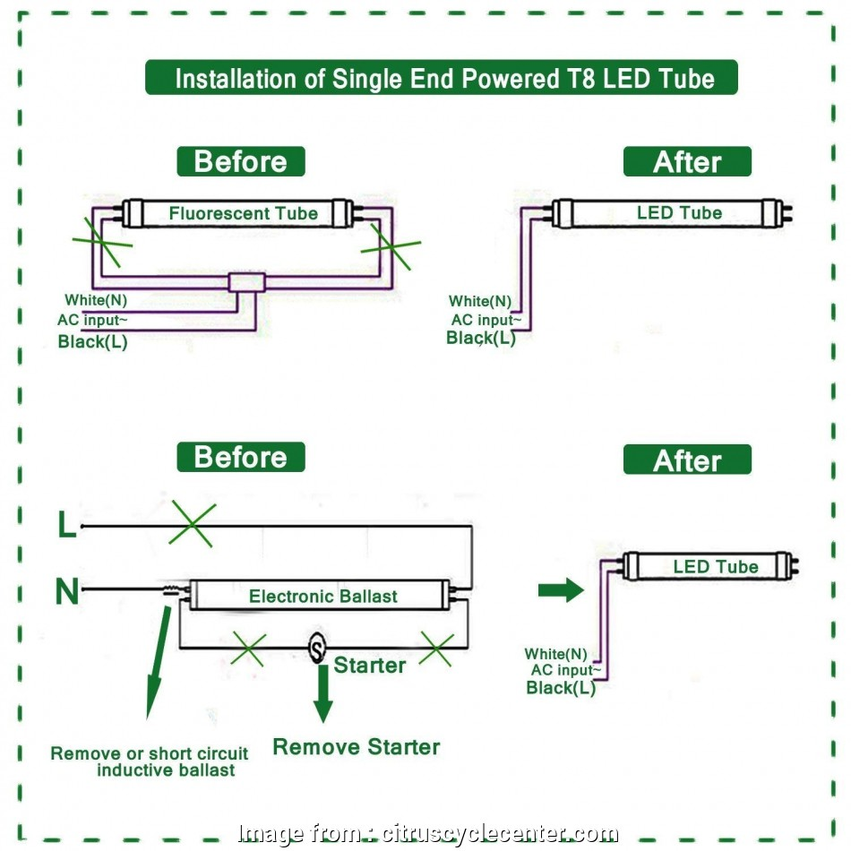 how to wire a fluorescent light for led Ballast Bypass Wiring Diagram, Wiring Diagram, Fluorescent Light Fresh Wiring Diagram, Led 10 Cleaver How To Wire A Fluorescent Light, Led Solutions