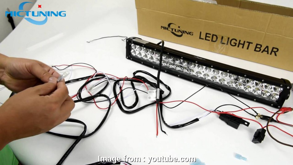 how to wire a kings light bar wiring harness connect to, light &, led light, installation, YouTube 17 Simple How To Wire A Kings Light Bar Galleries