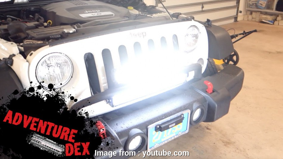 how to wire a light bar on a jeep jk Jeep Wrangler 20inch, light, installation by Auxbeam 12 Practical How To Wire A Light, On A Jeep Jk Collections