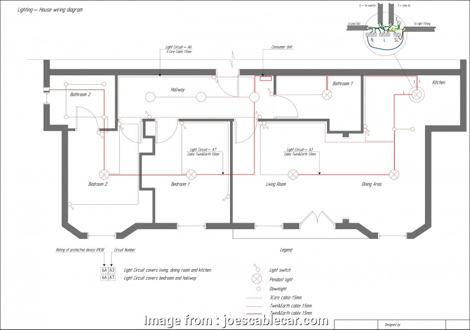 how to wire a light ring circuit wiring diagram, bathroom light switch  simple wiring diagram