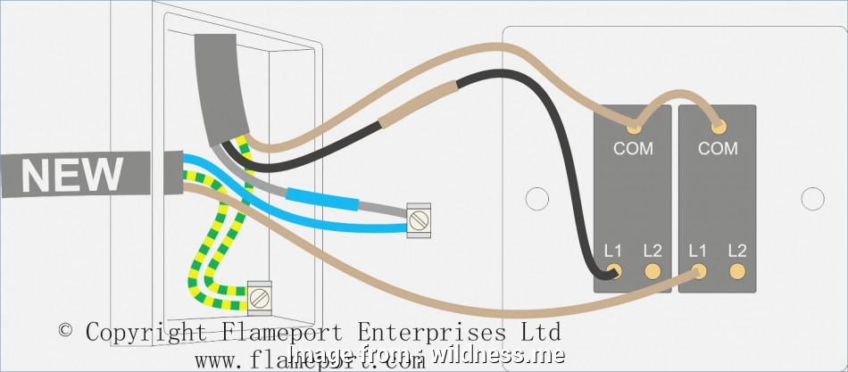 How To Wire A Light Switch Diagram Popular     Double Light Switch Wiring Diagram Classy