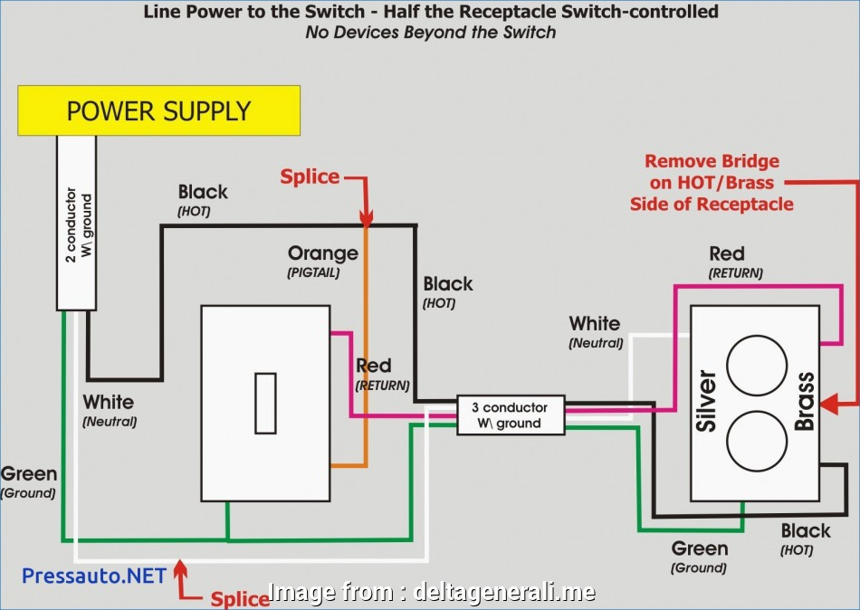 How To Wire A Light Switch Hot New Wire Light Switch  Outlet Combo  Install Troubleshoot Gfci